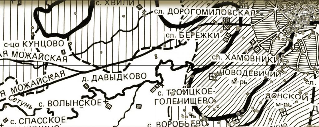 Давыдково в 1698 году